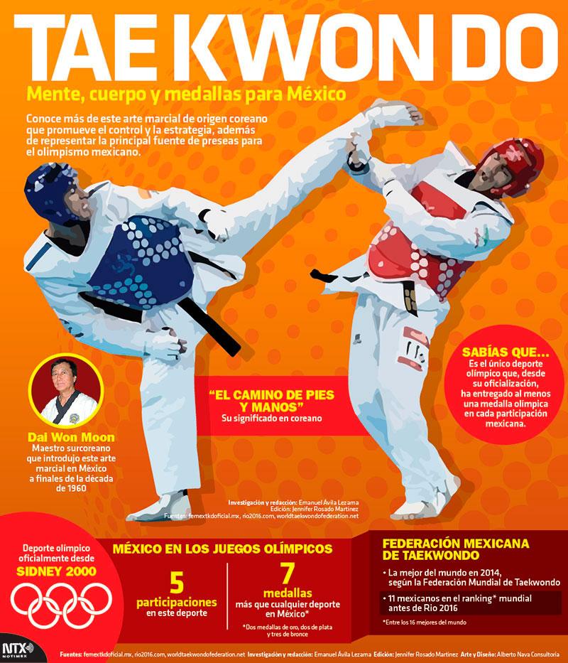 Resultado de imagen para tae kwon do infografia