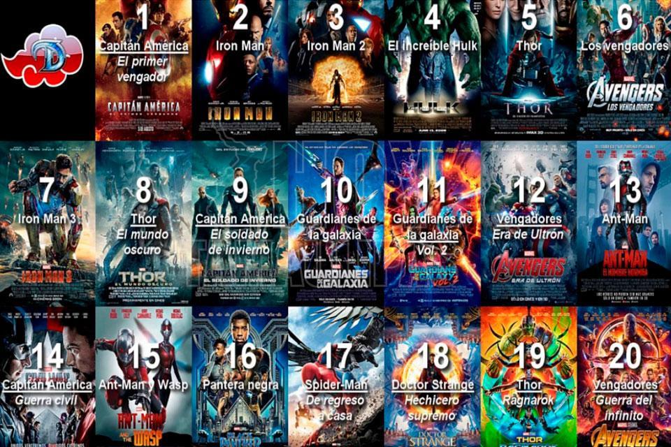 """8178ce3c5 Dicho maratón de películas arranca con la película del Capitán América """"El  primer vengador"""" a partir de hoy a las 17:00 horas; y así sucesivamente  hasta ..."""