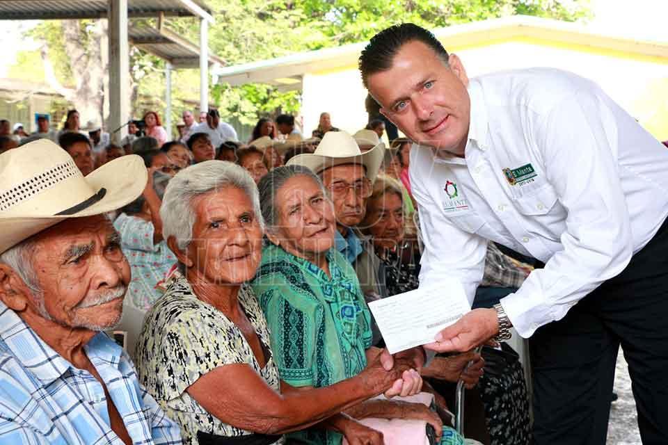 Hoy Tamaulipas - Inician pagos del programa Pension del