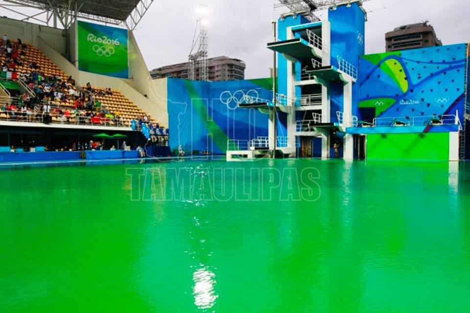 Hoy tamaulipas polemica agua verde de piscina de - Agua de piscina verde ...