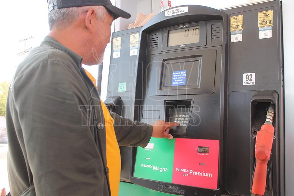 El gas 3308 gasolinas o el diésel