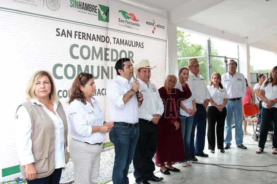 Hoy tamaulipas inauguran comedor comunitario en san fernando for Proyecto social comedor comunitario