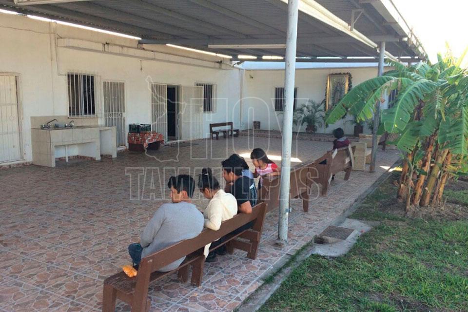 Hoy tamaulipas aumenta presencia de centroamericanos en for Mural de la casa del migrante