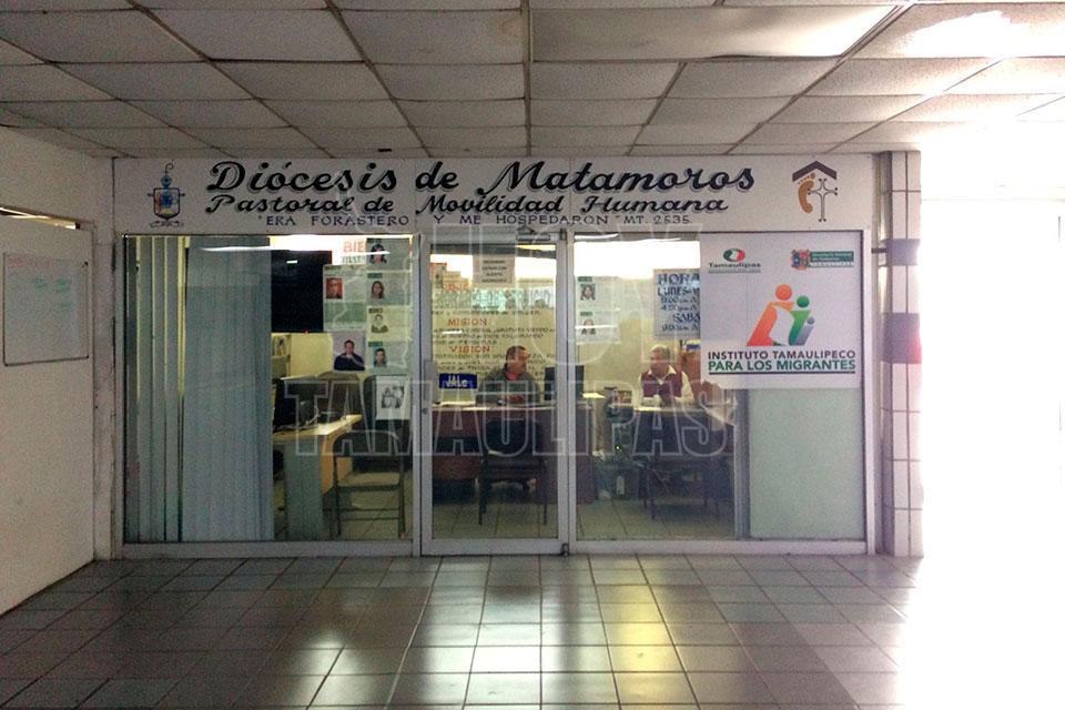 Hoy tamaulipas niega matamoros estar preparado para for Mural de la casa del migrante