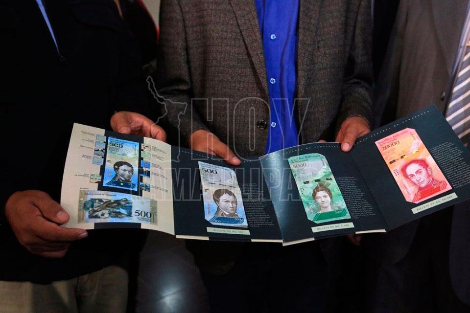 nuevos billetes venezolanos
