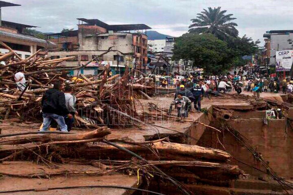 Mueren 16 personas tras desbordamiento de tres ríos en Colombia - Hoy Tamaulipas
