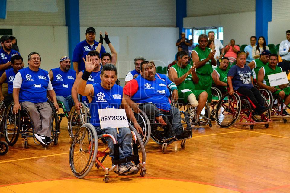 Hoy tamaulipas compiten atletas sobre silla de ruedas por pase a nacional - Deportes en silla de ruedas ...