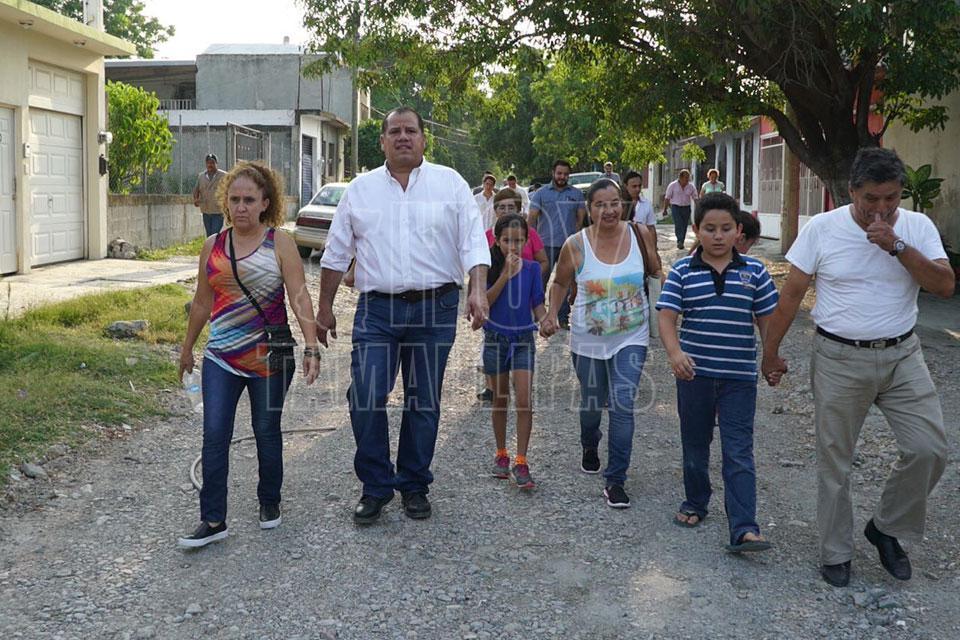 Pavimentarán dos calles de Ampliación López Mateos en Ciudad Victoria - Hoy Tamaulipas