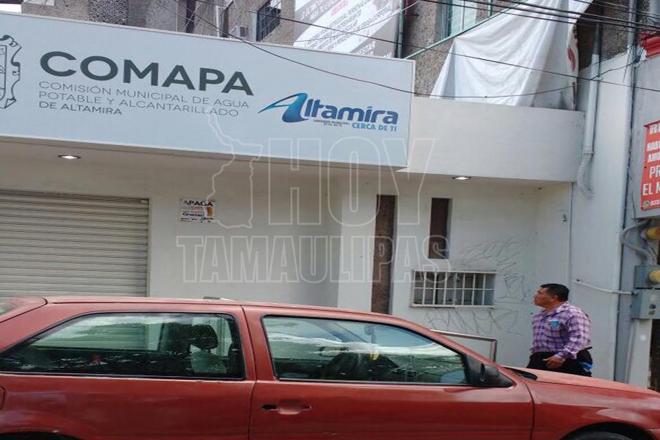 Hoy tamaulipas cerrara comapa altamira sus oficinas este for Oficinas unoe