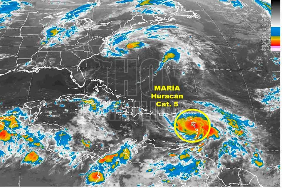 Hoy tamaulipas huracan maria recupera categoria 5 rumbo - Puerto rico huracan maria ...