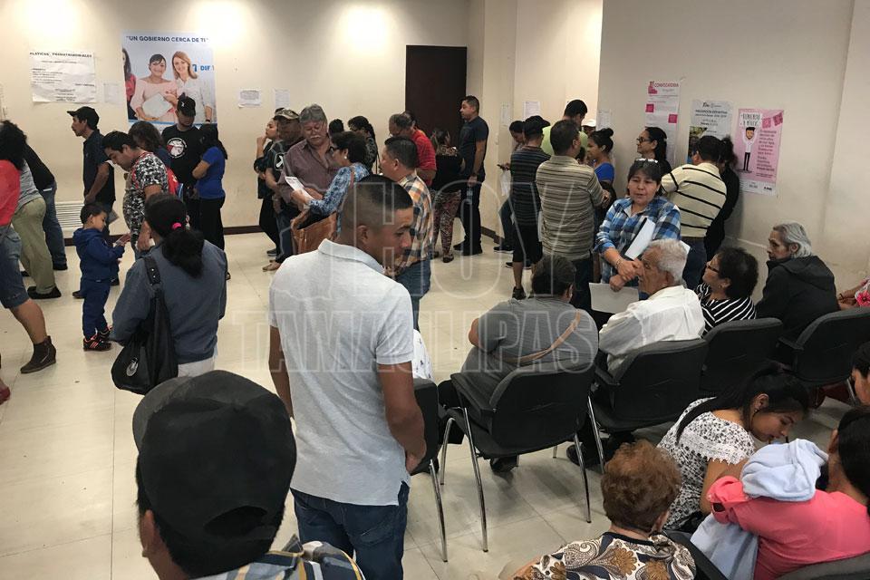 Hoy tamaulipas saturan oficinas del registro civil en for Oficina registro civil