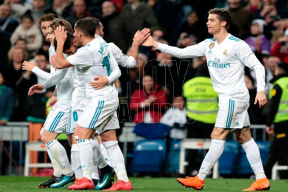 4a49bd5931469 Hoy Tamaulipas - Real Madrid tiene medio boleto hacia semifinales de la  Champions