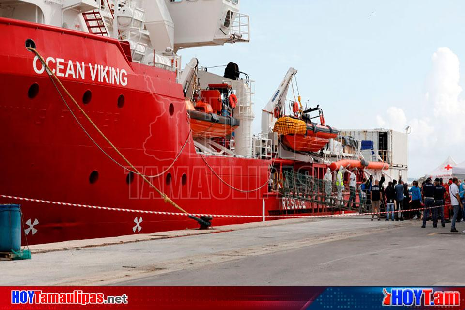 Hoy Tamaulipas - Rescata barco Ocean Viking a 94 migrantes en el  Mediterraneo