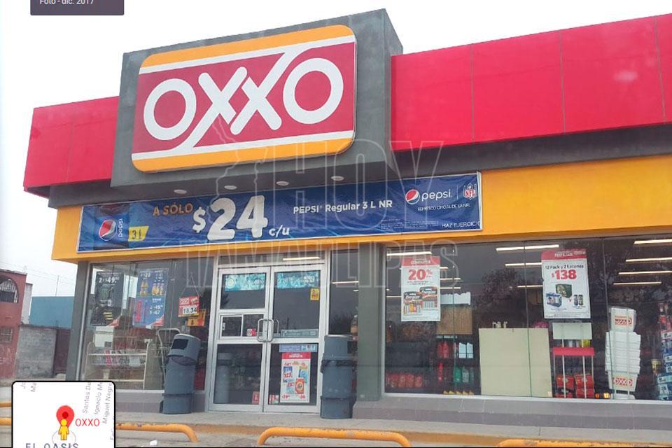 Con cuchillo en manos ladrones atracan Oxxo en Reynosa - Hoy Tamaulipas