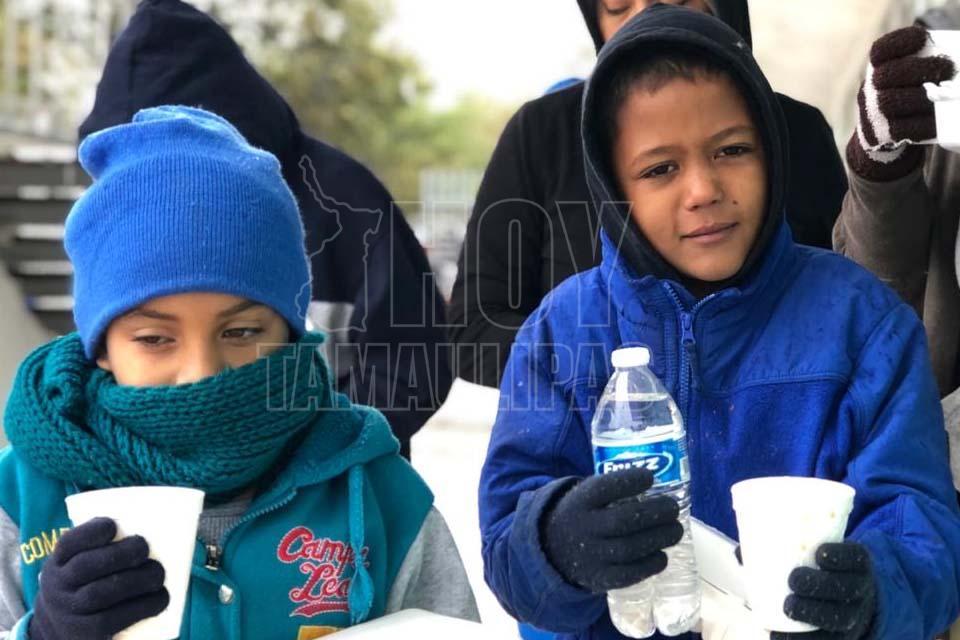 Niños los más vulnerables en el campamento de migrantes de Matamoros - Hoy Tamaulipas