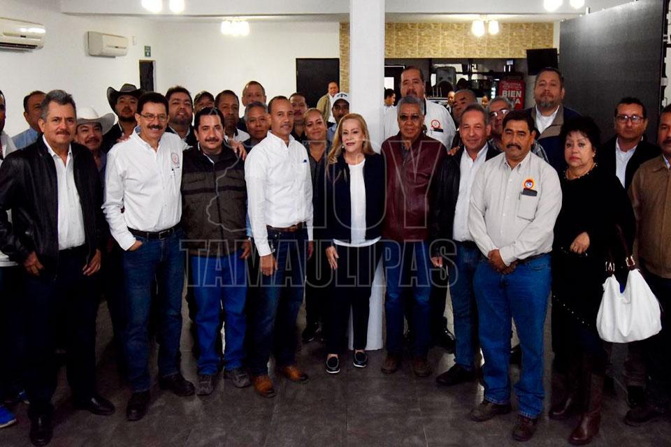 Respalda Sindicato Nacional de Petroquimicos trabajo de Gobierno de Altamira - Hoy Tamaulipas