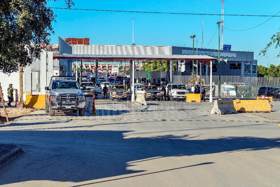 Hoy Tamaulipas - Informa Aduana de Nuevo Laredo de cambios