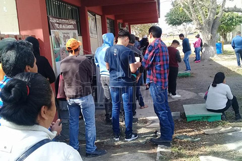 Hoy Tamaulipas Abarrotan Modulos Del Ine En Matamoros