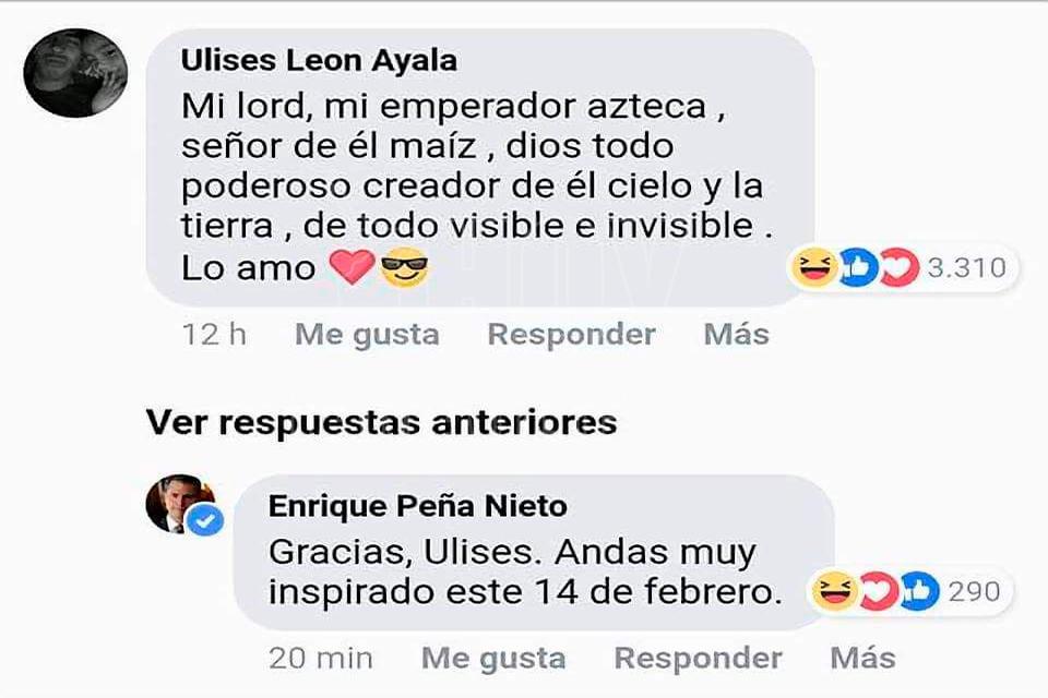 Galeria Fotografica Responde Pena Nieto A Sus Trolls En Facebook