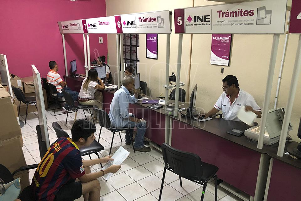 Hoy Tamaulipas Ine Matamoros Solo Tendra Dos Modulos Para
